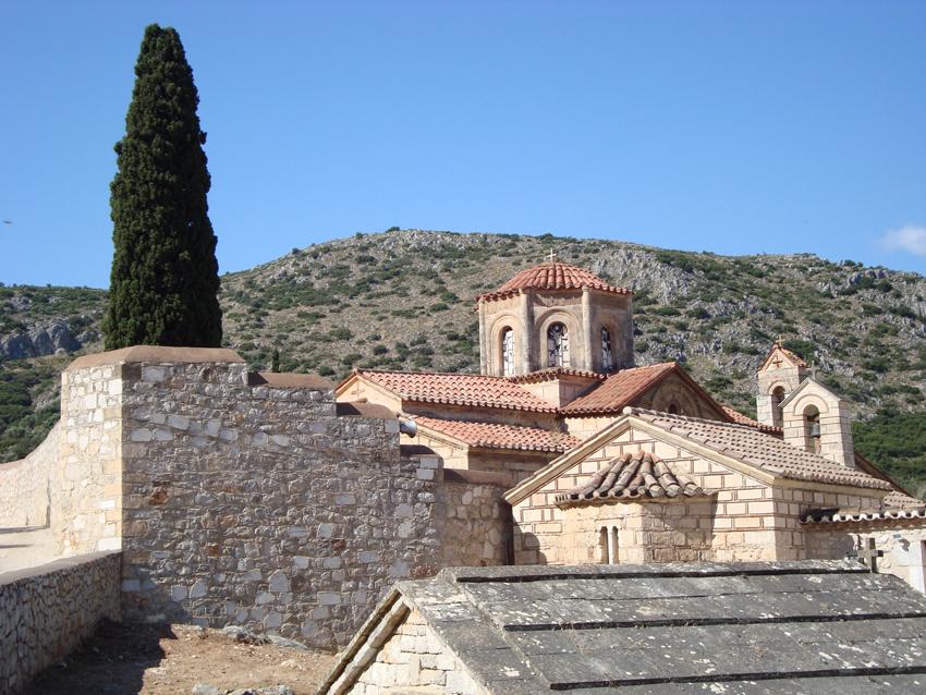 Agia Moni Monastery -1