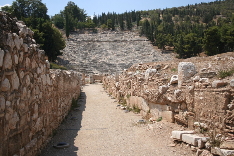 Argos - Ancient theatre - 1