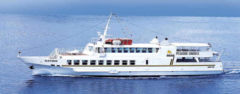 Alkyonis cruise boat - 2