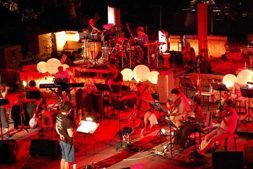 Rehearsal at the Theatre in Epidaurus