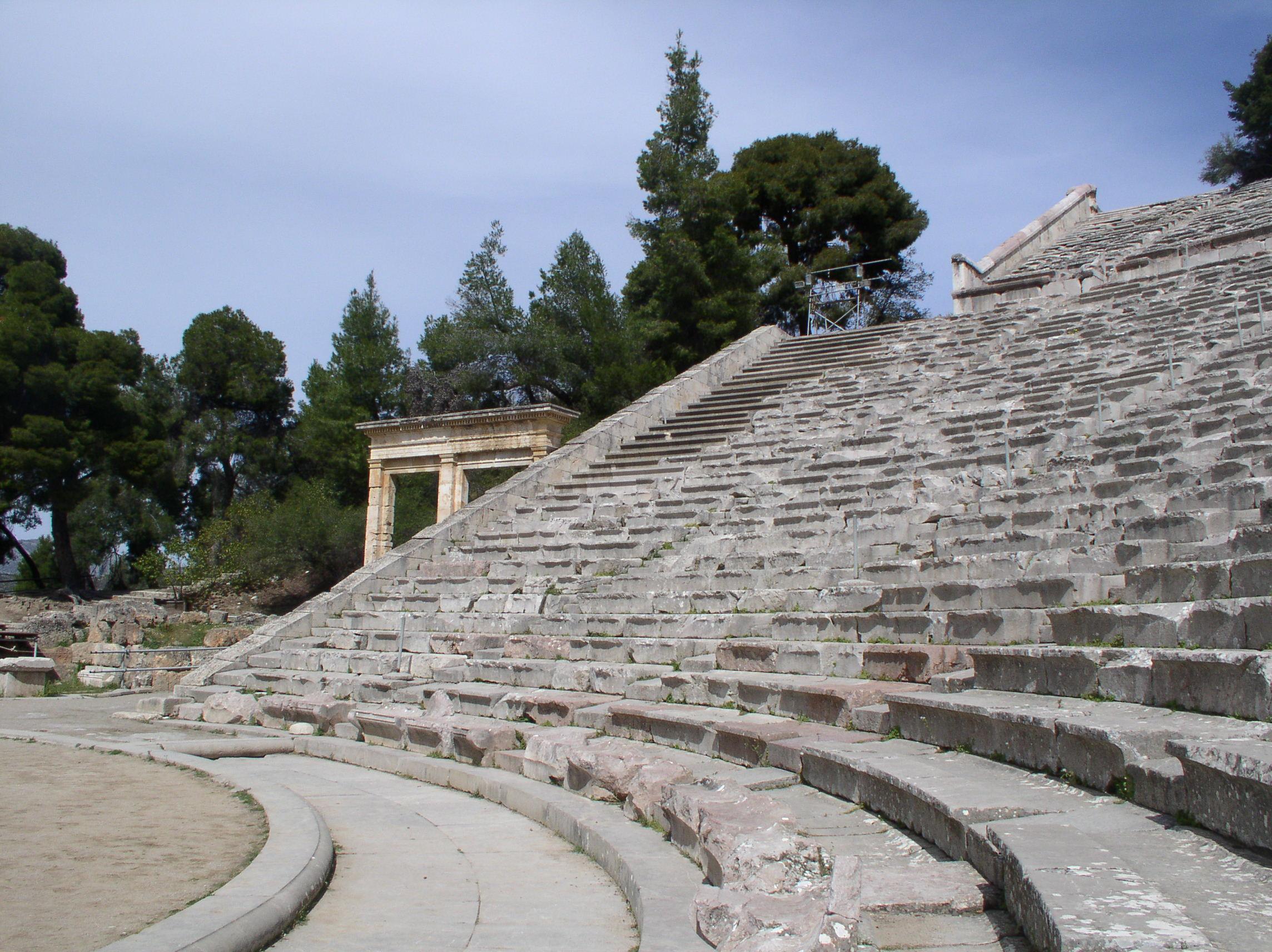 Epidaurus theatre -06