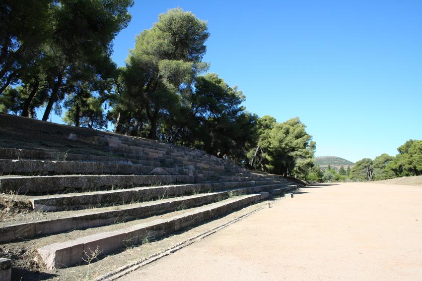 Epidaurus - the stadium -01