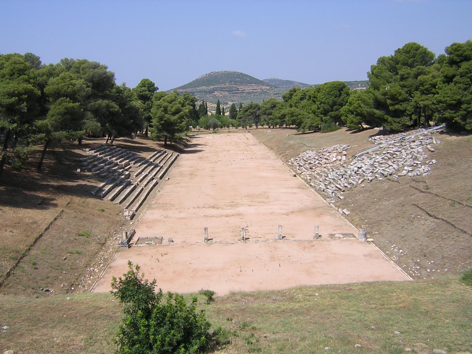 Epidaurus - the stadium -02