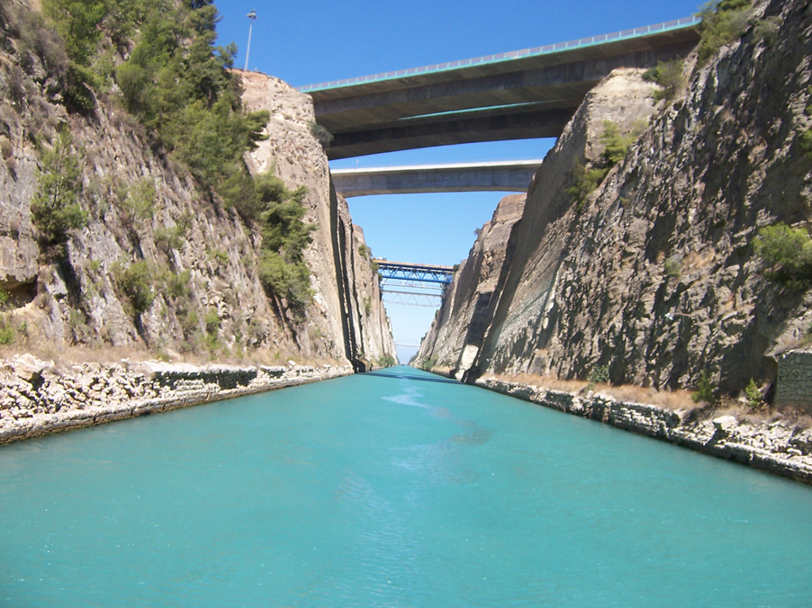 peloponnese-canal