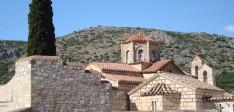 Het klooster Agia Moni