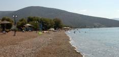 La plage de Kandia